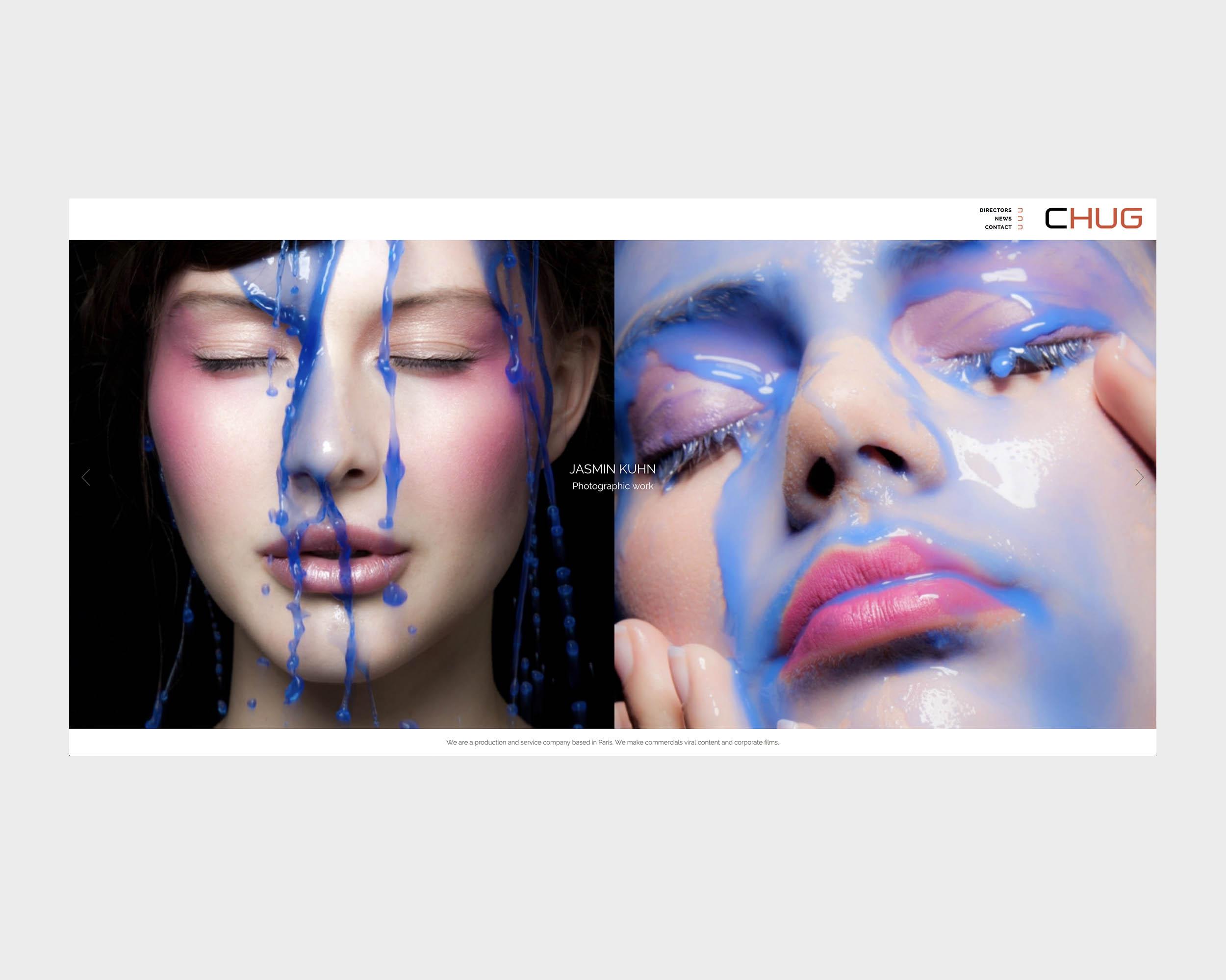 Accueil Chug Films - Création site internet - Laurent Forbault - Webmaster Freelance Paris