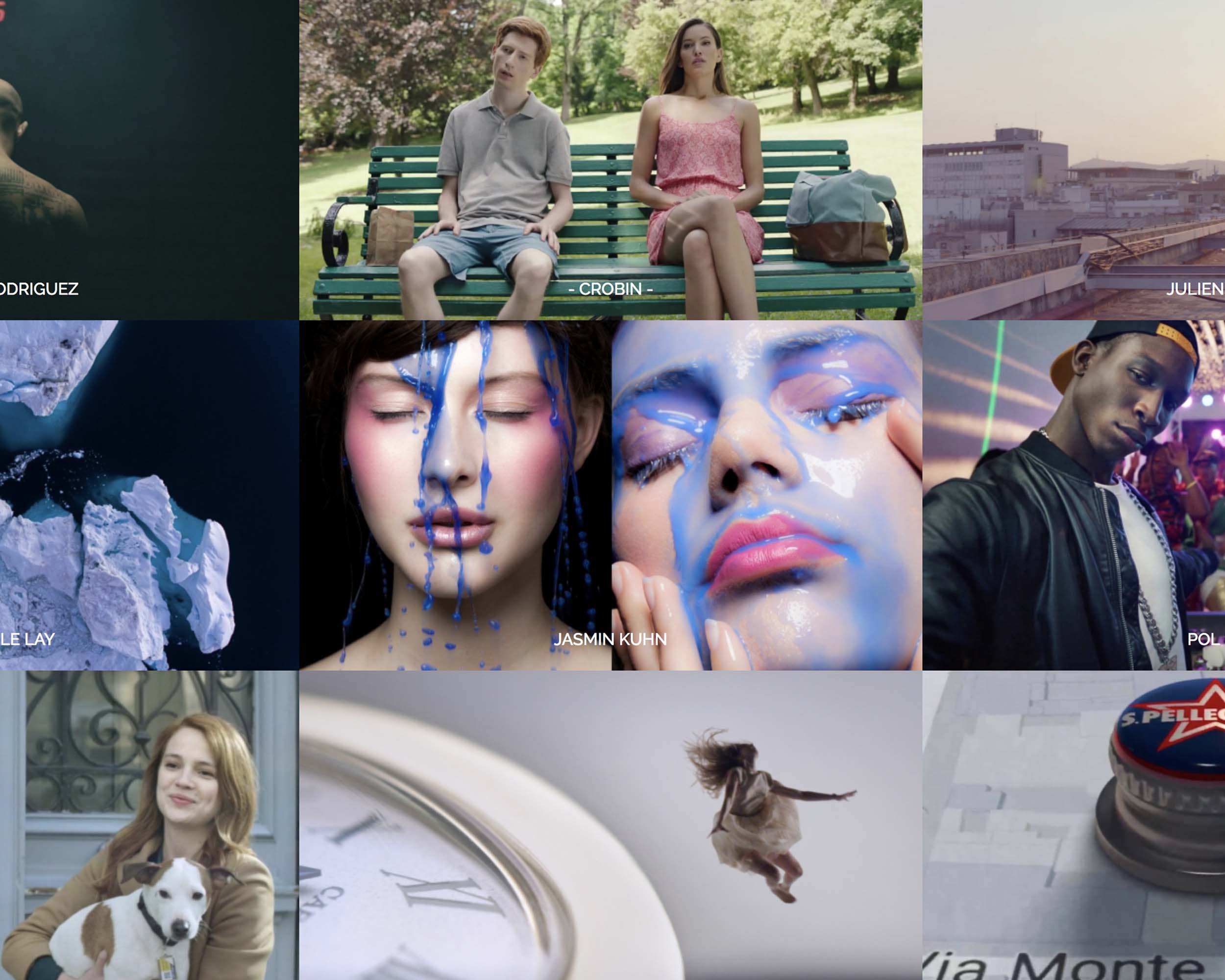 Page réalisateur Chug Films - Création site internet - Laurent Forbault - Webmaster Freelance Paris