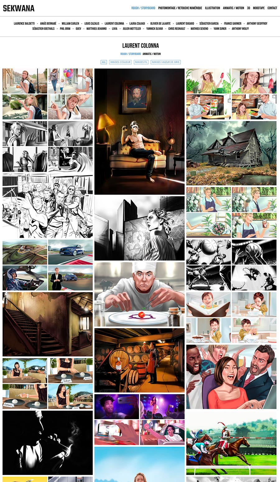 Refonte site web sekwana - Laurent Forbault - Webmaster Freelance Paris